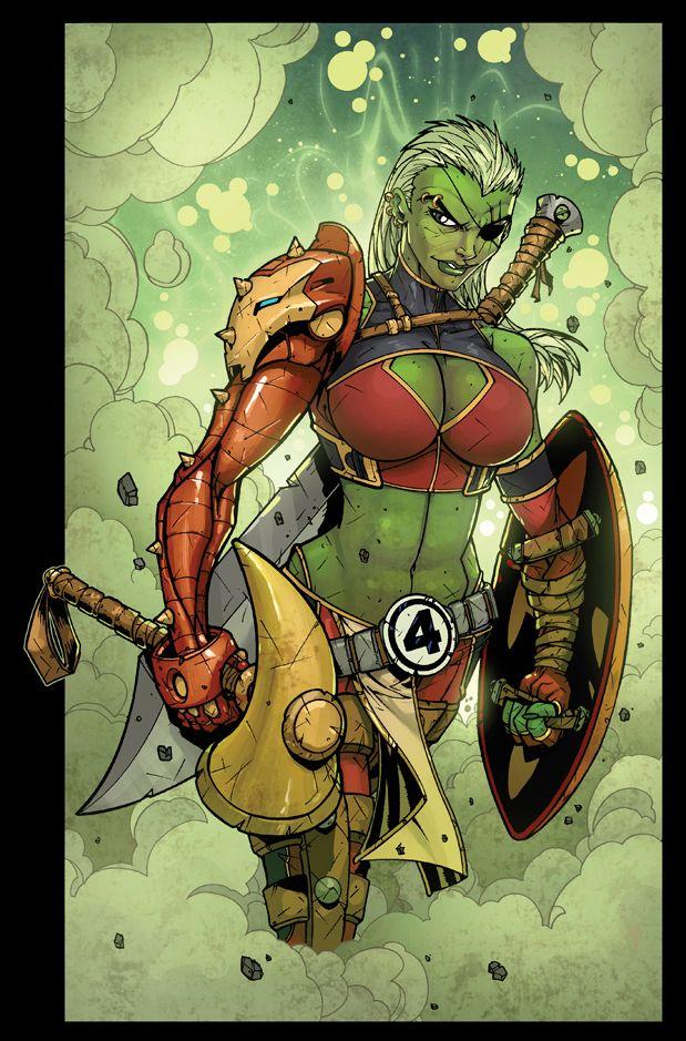 She Hulk by Jonboy Meyers