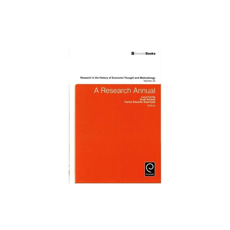 A Research Annual ( Research IN THE History OF Economic Thought AND Methodology) (Hardcover)
