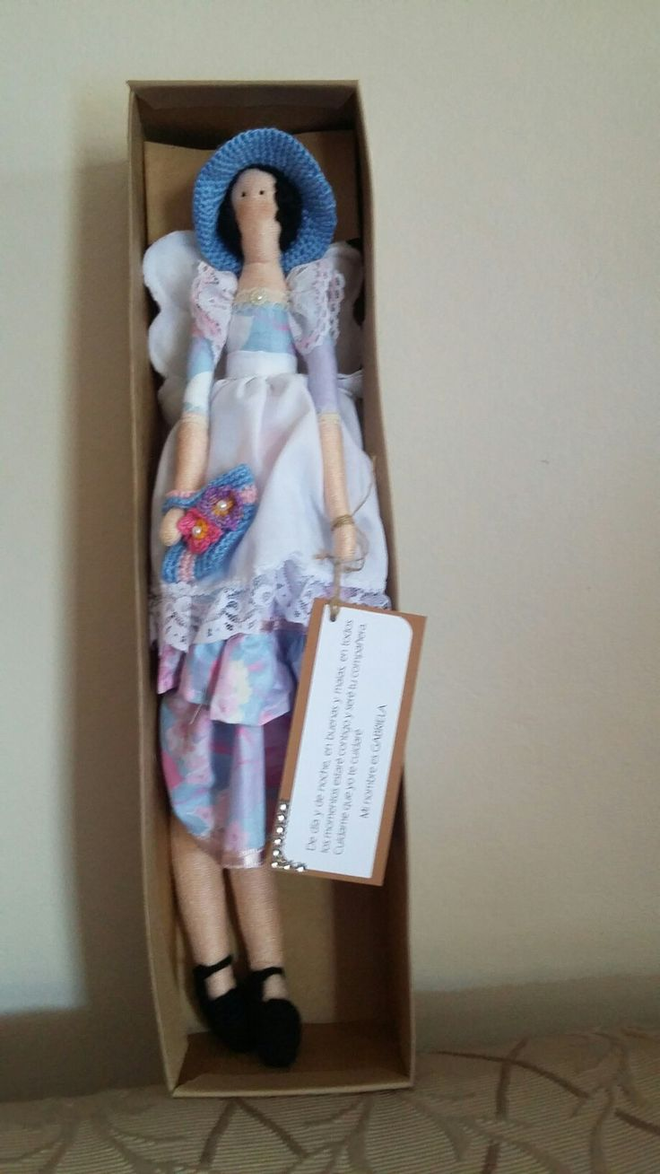 muñequita tilda de confección  artesanal