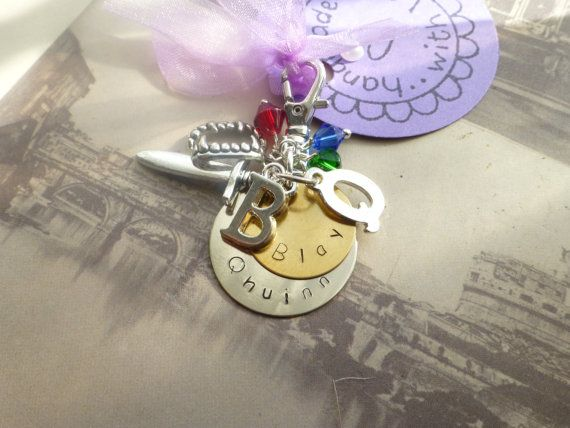 Black dagger brotherhood Qhuinn and Blay keychain by lauriebale, £4.00