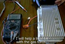 DIY peltier unit,DIY thermoelectric generator,how to build thermoelectric generator