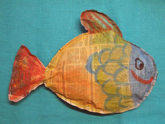 Kala sanomalehdestä