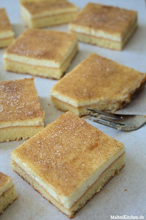 Ein nordhessischer Schmandkuchen mit gaaanz viel Zimtzucker bestreut :) #kuchen…