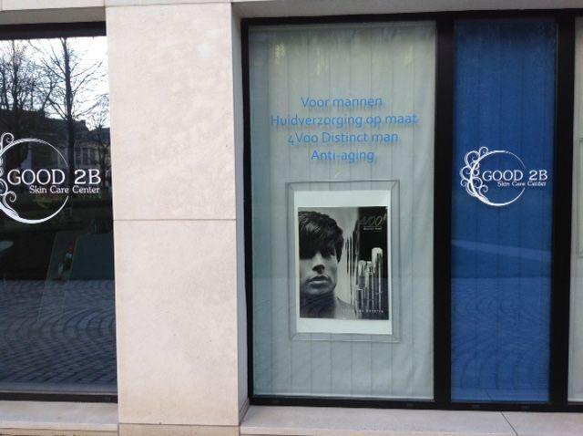 Good2B is gespecialiseerd in huidverzorging voor mannen en zonder twijfel uniek in Mechelen.