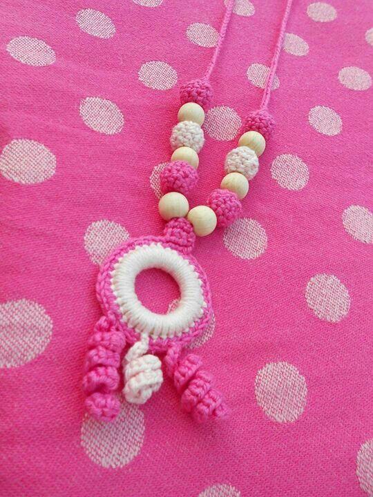 Borstvoedingsketting roze