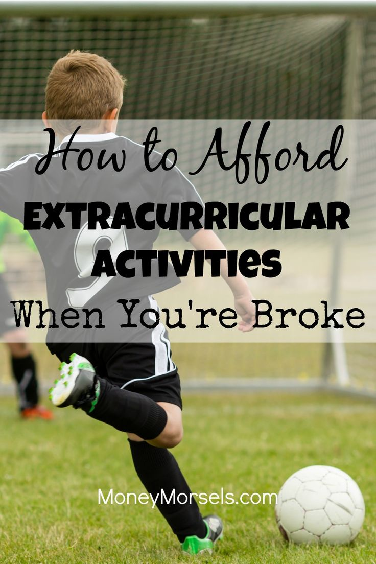 Kids love sports, music, and other extracurricular activities, but they aren't cheap. Here are some ways to reduce the costs while still letting your kids have fun.