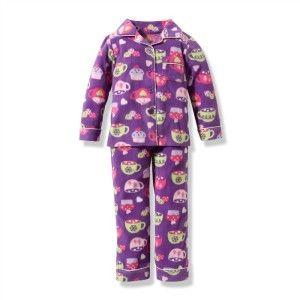 Pijama infantil que pode ser feito de soft, flanela ou moletinho, com ou sem gola. Segue moldes de pijama nos tamanhos 2, 4, 6, 8 e 10.