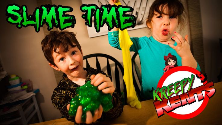 Slime Time (How to make your own ooze!)