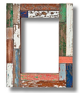 Dutch Harbor Mixed Wood frame by Aaron Brothers