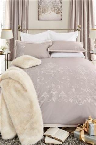 Elegant Lace Bed Set from Next