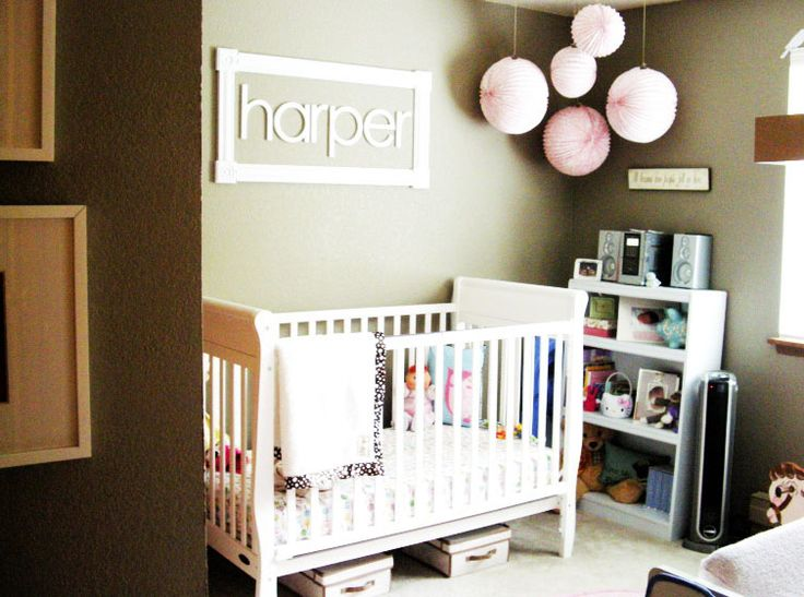 Baby Bedroom In A Box Special: Modern Baby Room Ideas For Girls For Mom To Be: White Baby