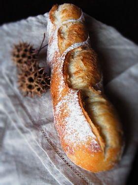 自家製酵母のフランスパン(中種) by ぱんこ625 [クックパッド ...