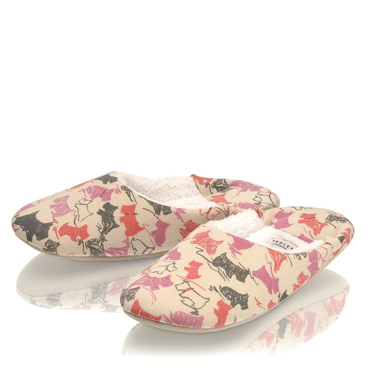Radley Doodle Dog slippers - an ideal Christmas gift :-)