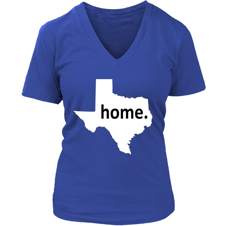 We Are Country - Women's V-Neck Home is Texas Shirt