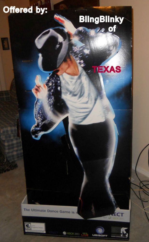 MJ #MichaelJackson Billie Jean Kinect #XBOX 360 Gaming Display #Kinect