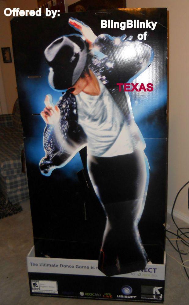 Michael Jackson Gaming Display Poster Kinect XBOX 360  #Kinect #MichaelJackson