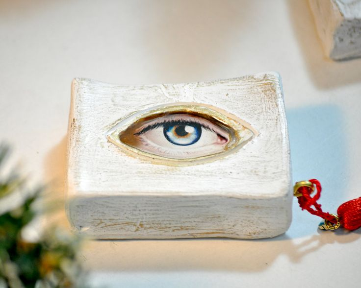Charms, Eye, Gift For Home, Good Luck Gift, Ceramic, Good Luck Charms, Gift For Her, Gift For Him, Gift For Women, Gift For Men, Good Luck by AnthiCreativeTouch on Etsy