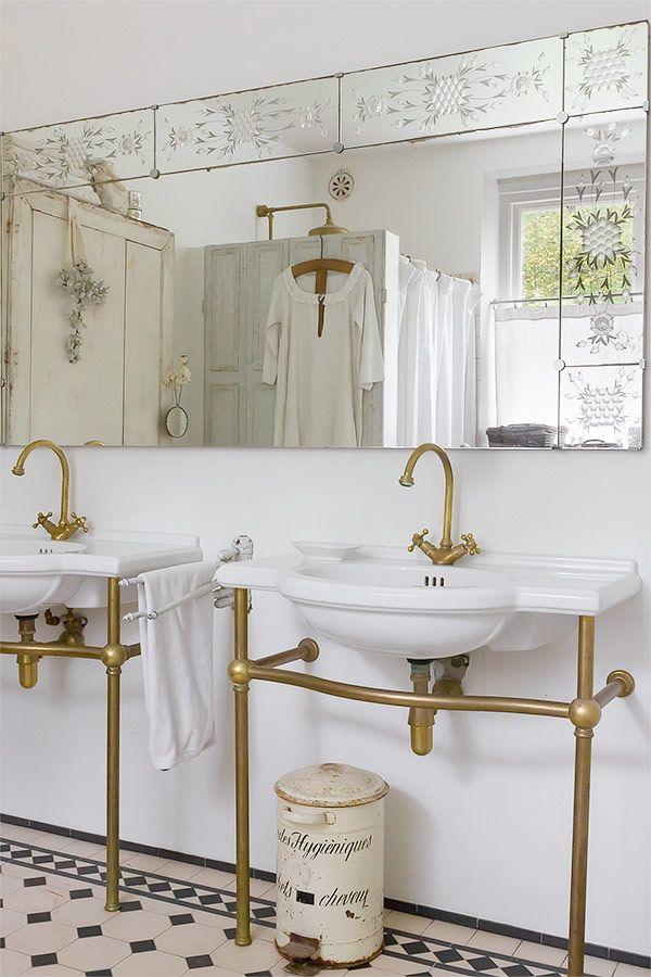 Bathroom/shabby chic/Sköna hem
