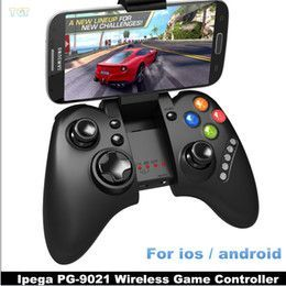 DHL Ipega PG-9021 PG 9021 Wireless Bluetooth Gaming Game Controller Gamepad gamecube Joystick for IOS Android Phone Mini PC Tablet PC Laptop