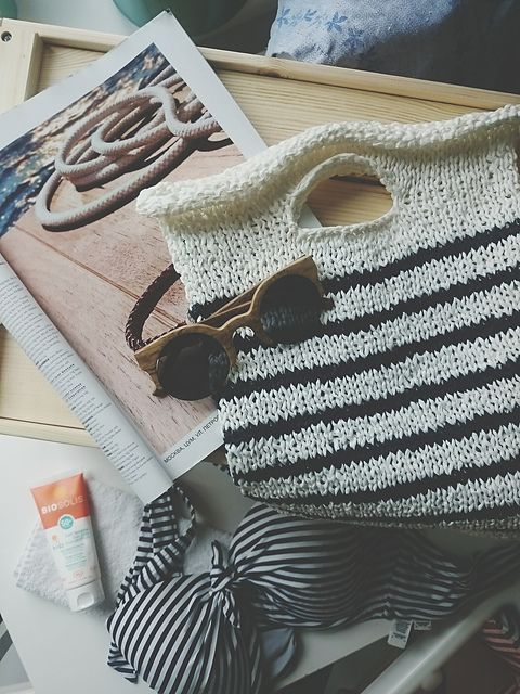 Ravelry: Summer In The City Bag pattern by Julia Schumacher