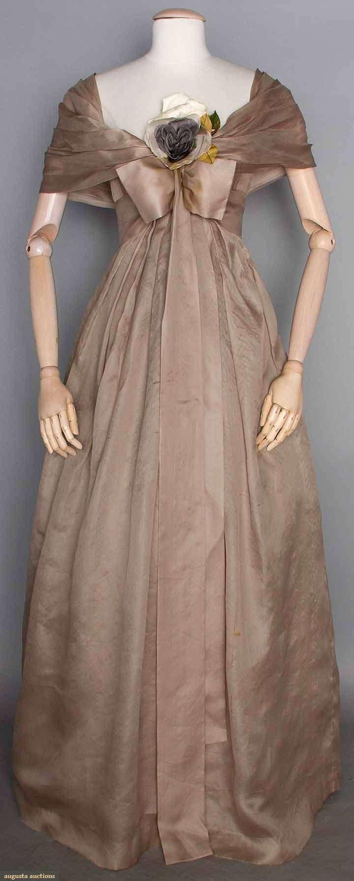 Dior Couture Ballgown, Paris, Spring 1958, Augusta Auctions, November 12, 2014