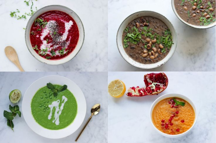 4 gezonde detox soepjes