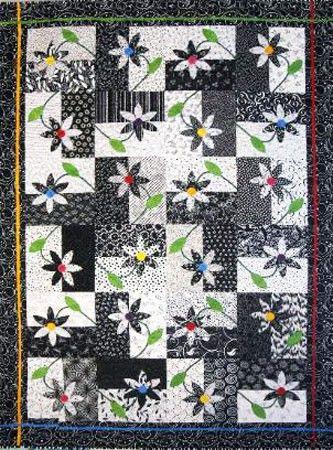 Upsy Daisy by Patterns by Valentina at Creative Quilt Kits