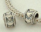 http://ift.tt/1PIyU8I General Gifts  Anillo  925 plata estilo europeo antiguo corazón anillo encantos/bolitass de plata  decoración de pulseras  compatible con pandora biagi chamilia troll