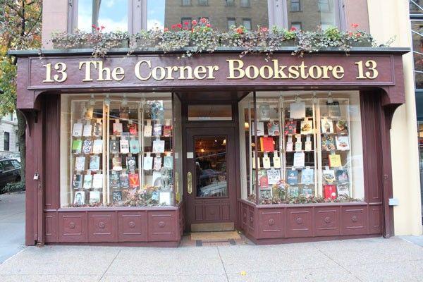 Storefront - The Corner Bookstore NYC