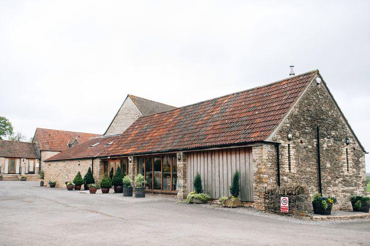 The Kingscote barn - my wedding venue