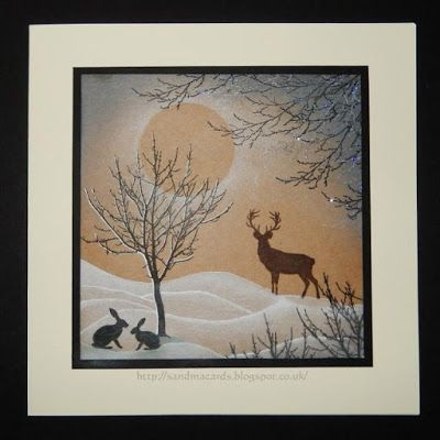 Card Io / Majestix / Tapestry Sandma's Handmade Cards: Rudolph Day - March 16