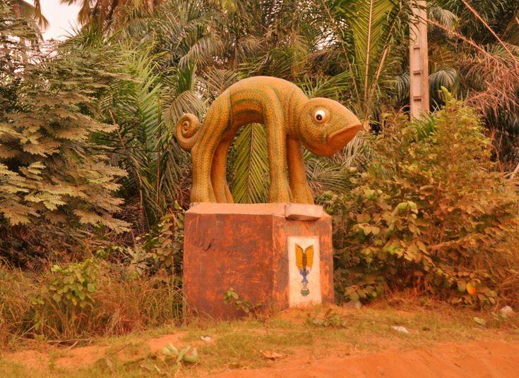 Festival Vodoo Internazionale di Ouidah in Benin cammino degli schiavi