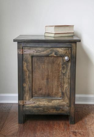 Love the hinges on thid Side Table