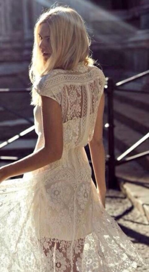 Because when and if I marry my best friend, I dont wanna be dressed like a princess, I wanna be me.