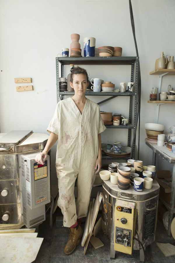 Ilana Kohn x Garmentory Lola Utility Coverall- love seeing purpose built garments being used in a practical environment