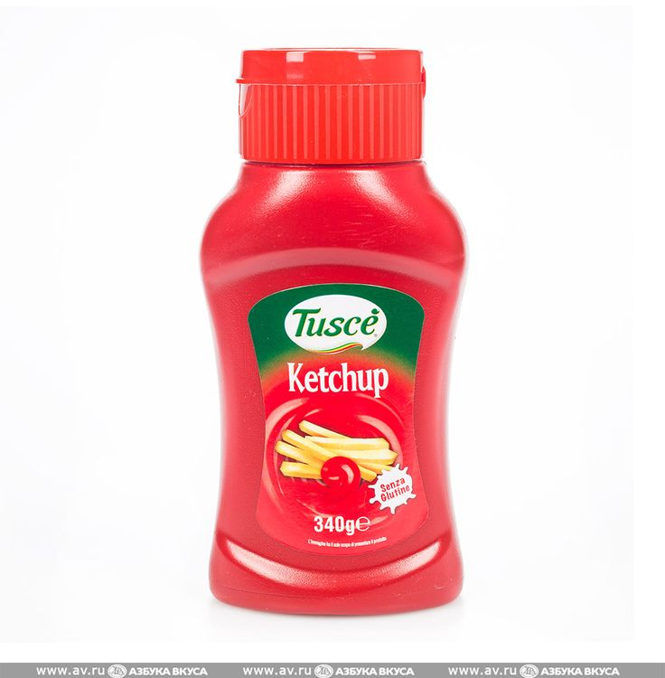 Кетчуп Tusce томатный Righetti Alimentare 340г пластик Италия по цене 135 руб 0 коп