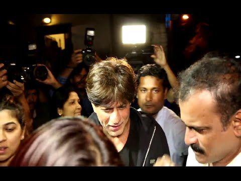 Shahrukh Khan at Shankar Mahadevan's recording studio.