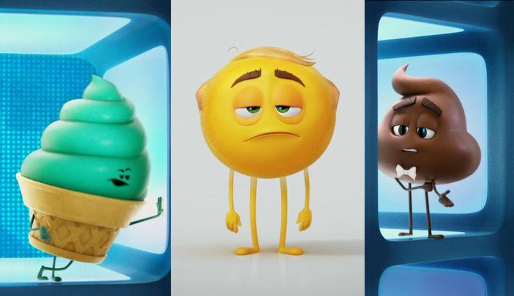 Первый трейлер The Emoji Movie «Эмодзи: Вырази себя»