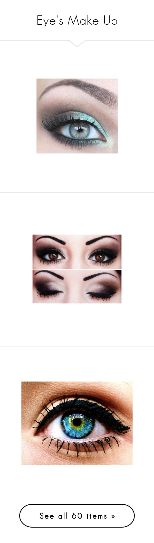 """Eye's Make Up"" by jaz-flor ❤ liked on Polyvore featuring beauty products, makeup, eye makeup, eyeshadow, eyes, beauty, opi, pictures, bourjois and bourjois eyeshadow"