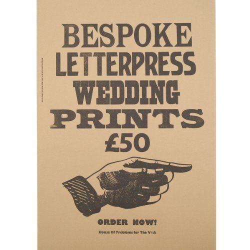 Wedding Gift List Bespoke : bespoke gift list book jacket forward bespoke letterpress wedding ...