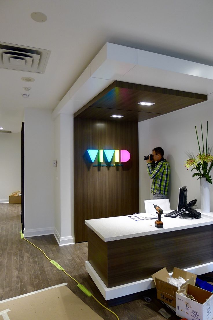 """VIVID condominium, formed translucent acrylic with vinyl translucent film faces and return 2"""" deep with internally lighted with led  lights #artsigns #3dsignage #wayfinding #signs #wallsigns"""