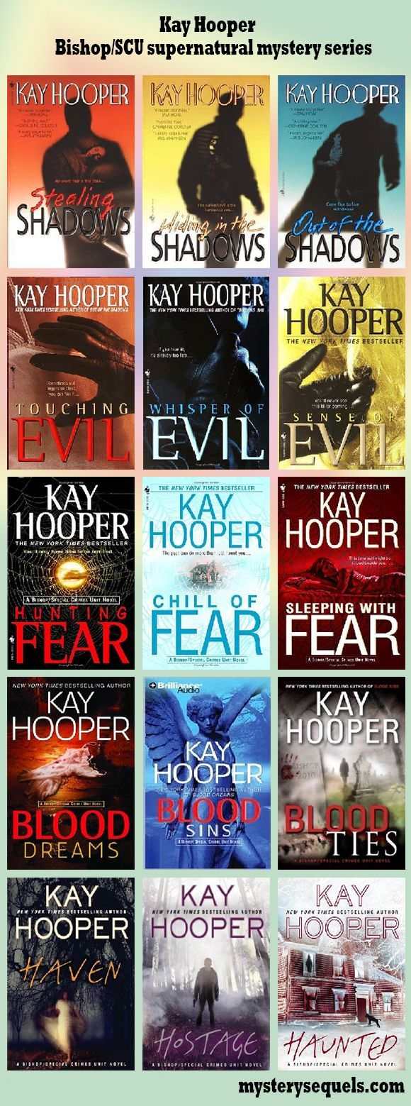 Kay Hooper - Special Crimes Unit / Bishop paranormal mystery series