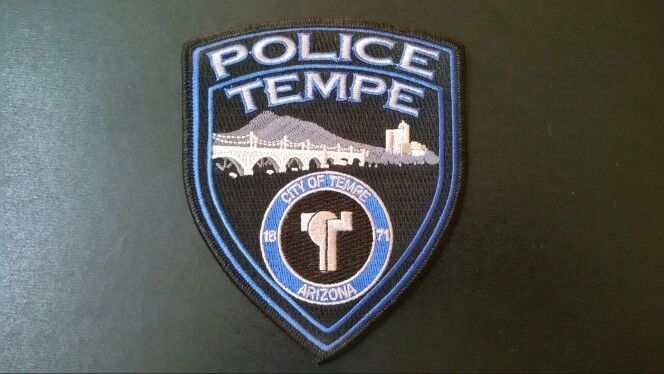 Tempe Police Patch, Maricopa County, Arizona (Current 2012 ...