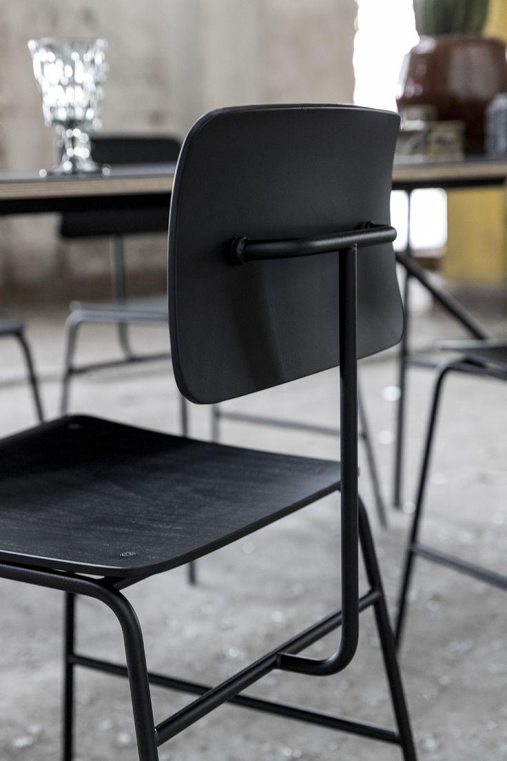 Have a seat - Sincera Chair, Black beech // Bent Hansen