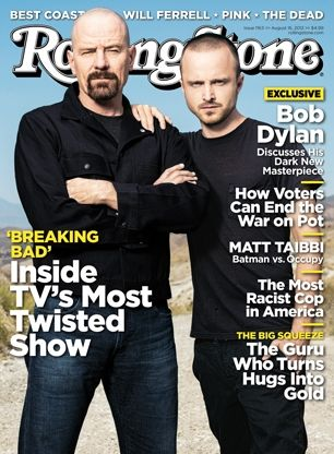 For our August 30, 2012 cover story, we spoke with 'Breaking Bad' stars Bryan Cranston and Aaron Paul about what it is like being on the most twisted show on television. #longreads