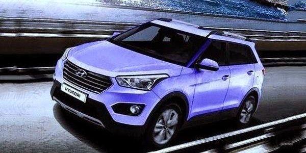 HYUNDAI на Бальзака 7: В Сети раскрыли «младшего брата» Hyundai ix35