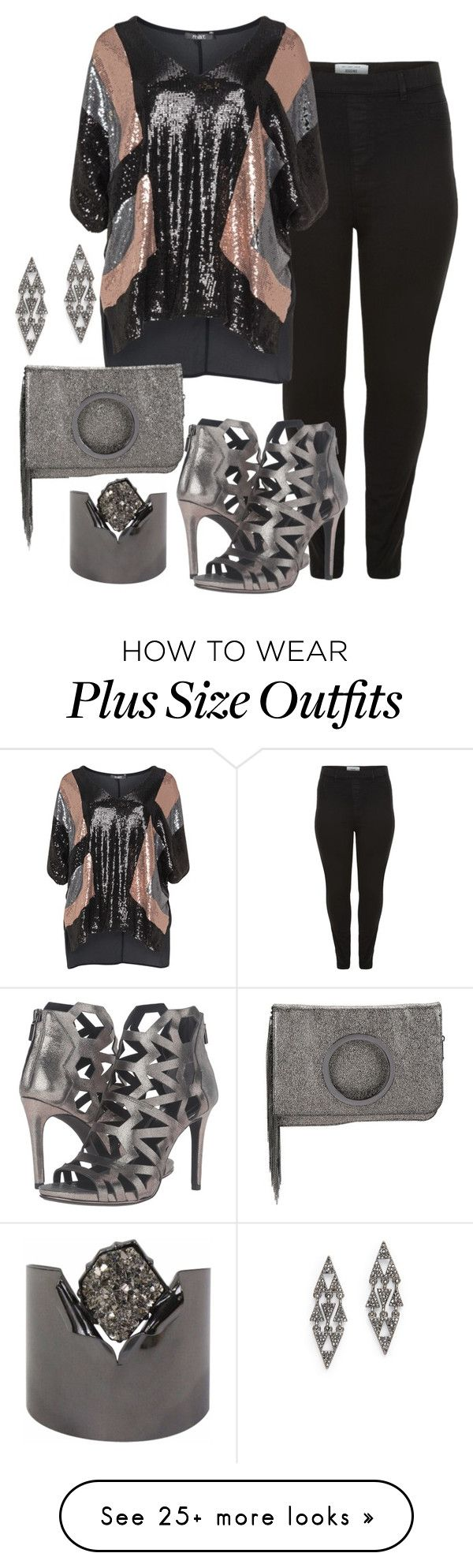 """Untitled #1468"" by beng-gallo on Polyvore featuring New Look, Mat, Kenneth Cole, Halston Heritage, BCBGeneration and Slate & Willow"