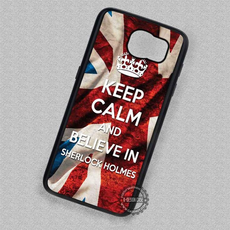 Believe in Flag Quote Keep Calm - Samsung Galaxy S7 S6 S5 Note 7 Cases & Covers