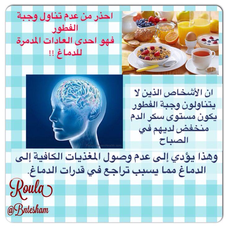 احذر من عدم تناول وجبة الفطور فهو احدى العادات المدمرة للدماغ ان الأشخاص الذين لا يتناولون وجبة الفطور يكون مستوى سكر الدم منخفض لديهم Food Breakfast Eggs