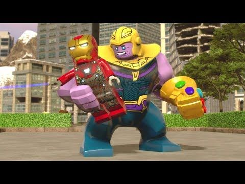 Team Lego Super With Heroes Special Up Moves Thanos 2 Marvel 2W9IEDH